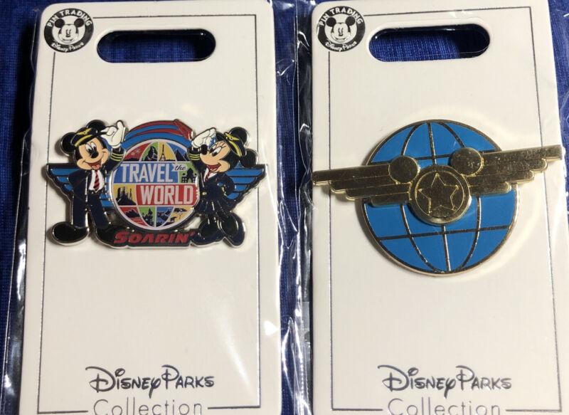 Disney Parks Soarin' Travel The World 2 Pins