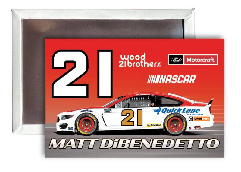 Matt DiBenedetto NASCAR #21 Fridge Magnet