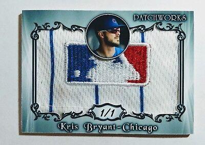 Kris Bryant Cubs 1 1 Custom Designed  Custom Made Jersey Card J38