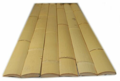 25 - 6 ft Natural Bamboo Slats 4 Wall Tiki Bar Zen Tiki Hut