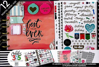 Me   My Big Ideas Box 109 Create 365 The Happy Planner Box Kit 12 Month Undated