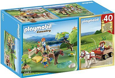 PLAYMOBIL 5457 Ponies Pony Pasteur Country Farm Anniversary Playset figures Toy