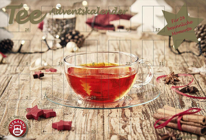 Tee-Adventskalender für Einen von Teekanne - 2019 / 2020, Teekalender 25 Beutel