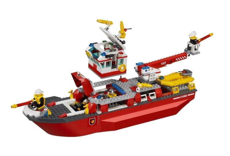 Lego Fire Boat Ebay