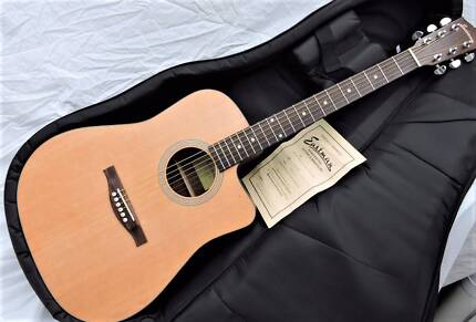 Eastman AC120CE Solid Top Acc/Elec