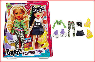 Bratz Clothes Deluxe Fashion Pack #2 - CRAZY COOL Raya & Jade 2 Outfits VHTF