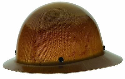Heavy Duty Construction Hard Hat Full Brim Safety Works 6.5-8 Head Protection