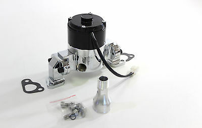 FORD WINDSOR 289-302-351 ELECTRIC WATER PUMP CHROME 35+GPM HIGH VOLUME 12 VOLT