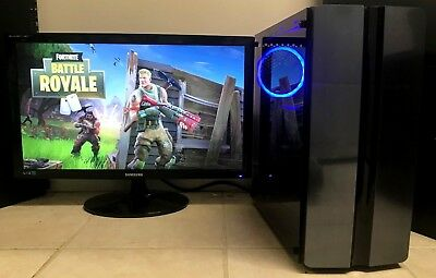 Gaming PC Desktop Intel Quad Core i5-4670 NVIDIA GeForce GTX 1060 8GB RAM 1TB HD