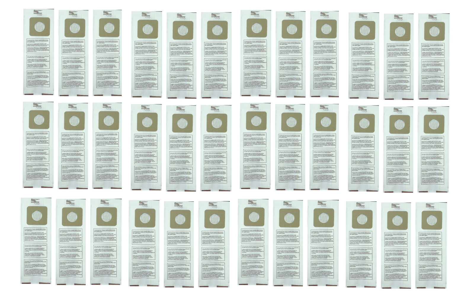 36 upright vacuum cleaner bags for panasonic
