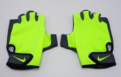 Nike Men's Essential Fitness Gloves Volt/Anthracite Large