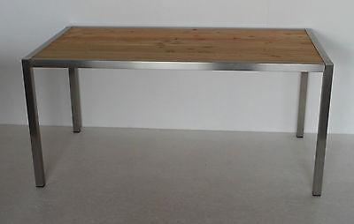 Gartenmobel Edelstahl Holz Gebraucht Kaufen Nur 2 St Bis 70