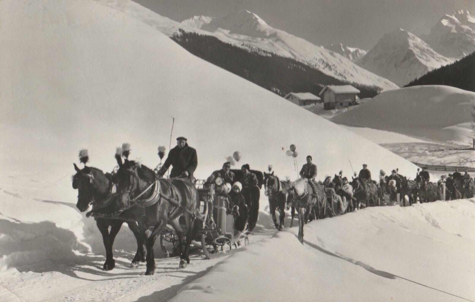 AK Davos, Schlittenfahrt
