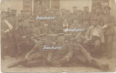 Foto  verletzte Soldaten im Lazarett  1.WK  (f33)
