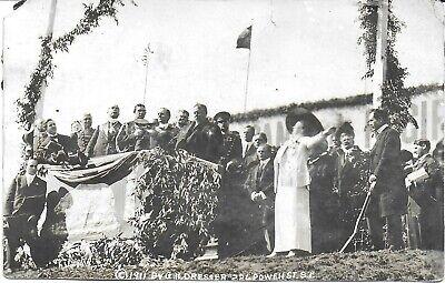 1911 RPPC President Taft Dedicating Site for Pan Pacific Intl Expo in S F