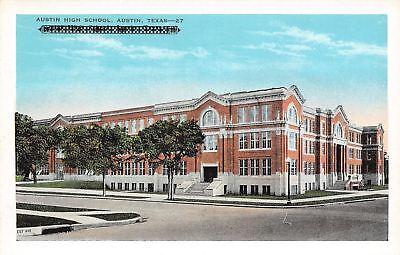 For sale Austin Texas~Austin High School~1920 Postcard