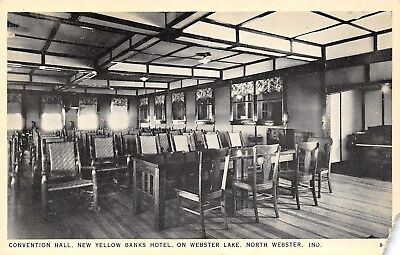 North Webster In Grand Piano At The New Yellow Banks Hotel Convention Hall 1940S