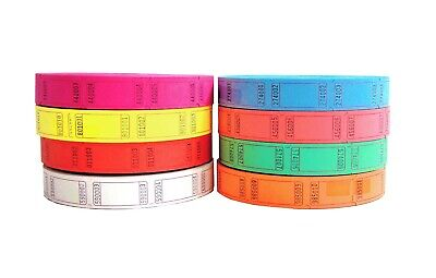Blank Tickets (Blank roll of single tickets - 2,000 tickets total - perfect for)