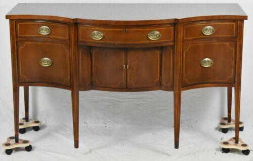 BAKER Furniture Inlaid Federal Style Mahogany Sideboard Williamsburg Look