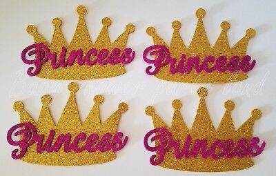 10 Baby Shower Princess Gold Crowns Foam Party Decorations it's a Girl Favors (A Baby Shower)