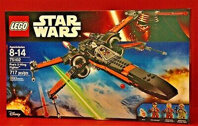 LEGO Star Wars Poe's X-Wing Fighter 75102 Factory Sealed Box my photos not stock