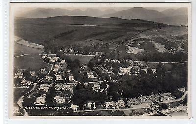 KILCREGGAN FROM THE AIR: Dunbartonshire postcard (C20981)
