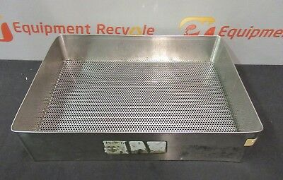 Sterilization Tray Basket Sterile Instruments Surgical Medical 15x10.5x3.5