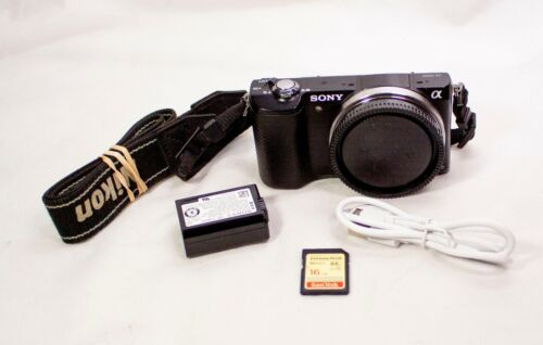 Sony Alpha a5000 20.1MP Digital Camera - Black (Body Only)