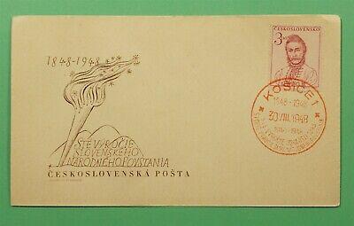 DR WHO 1948 CZECHOSLOVAKIA FDC 1848 HUNGARY INSURRECTION CENTENARY C241218