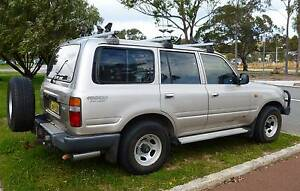 Landcruiser Wagon 1993 Toyota 5 Door White Gum Valley Fremantle Area Preview