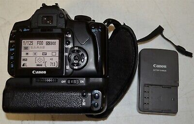 Canon EOS Rebel XTi 400D w/2 Batt & Charger ~ Body Only USED
