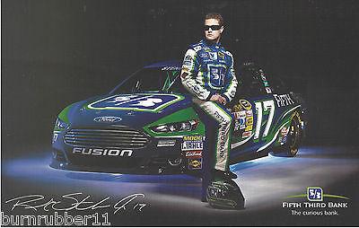 2013 Ricky Stenhouse Jr Fifth Third Bank  17 2Nd Ver Nascar Sprint Cup Postcard