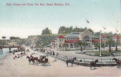 Bath House And Plaza Del Mar-Santa Barbara-Ca