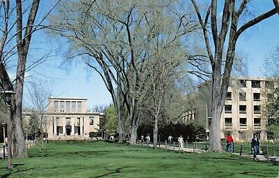 State College PA~Penn State University~Pattee Library on the Mall~Burrowes 1987