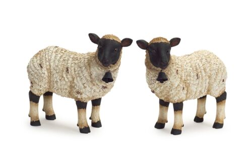 Sheep Statue Set of Two Figurines