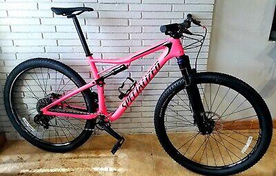 bf0d79c9480 2018 Specialized Epic Comp Carbon 29er- Large Pink Full Suspension Mountain  Bike