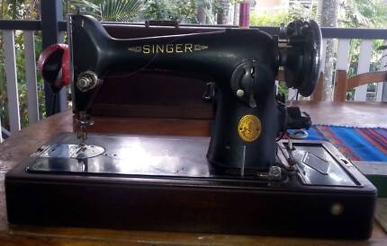 Singer 201K knee controlled Sewing Machine Coorparoo Brisbane South East Preview