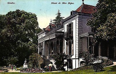 Genf, Geneve, Musee de Mon Repos, 1910 nach Finnland versandt (!!)
