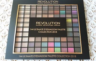 Makeup Revolution Ultimate 144 Eye Shadow Palette 2018 Makeup Kit Set Make Up
