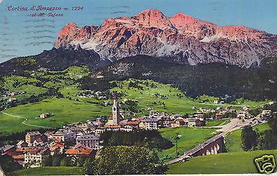 Cortina d'Ampezzo col M. Tofana f.p.