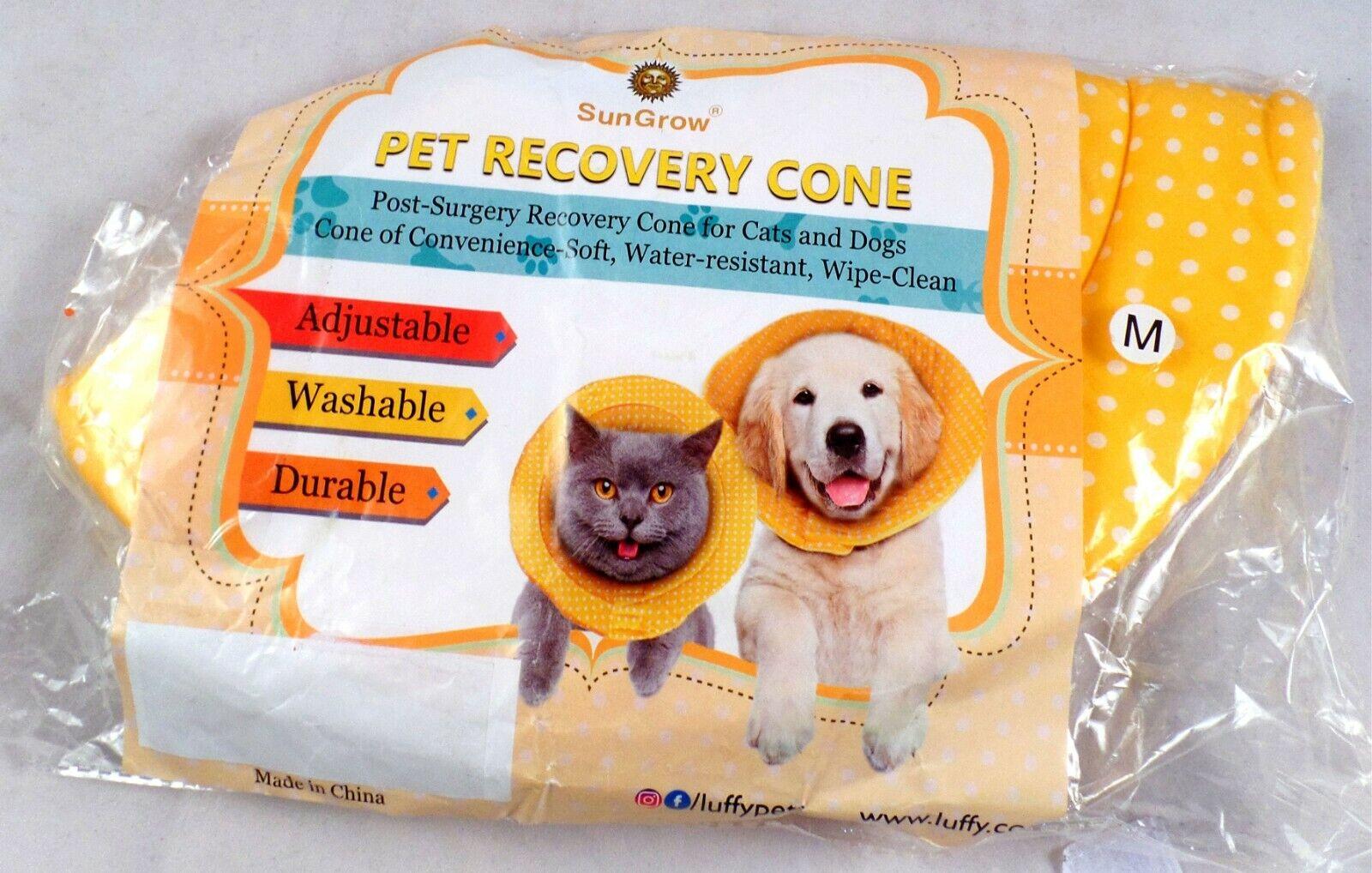 SunGrow Dog Recovery Cone, Soft Comfortable Neck Pillow, For Speedy Neuter - CA$19.50