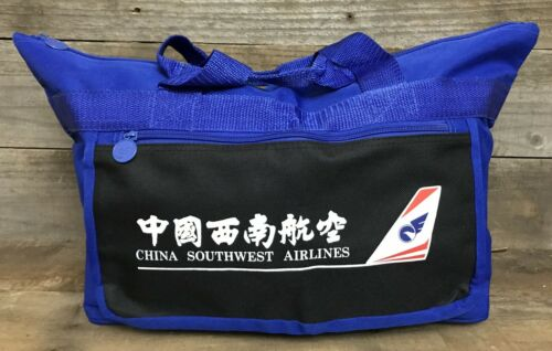 Vintage China Southwest Airlines Bag, Defunct, Mint, Airplane - Rare