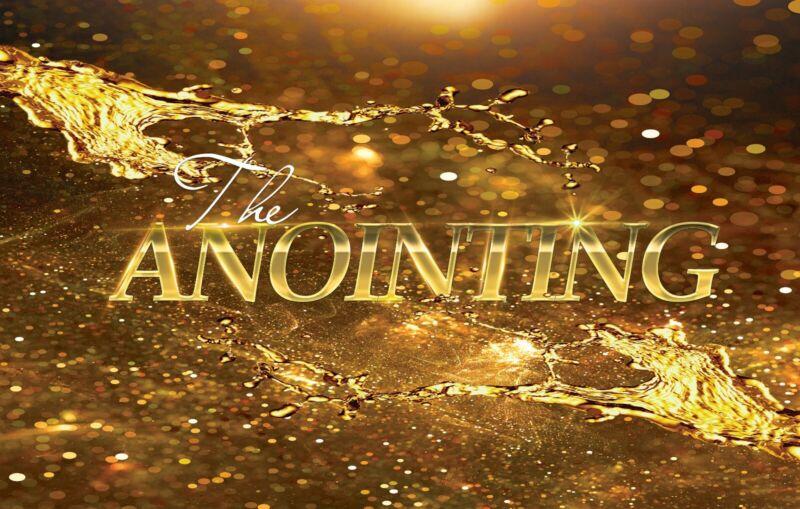 The Anointing Praise & Worship Dance Flag 100% Silk