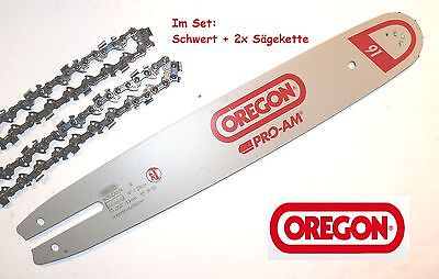 OREGON PRO-AM 22 BPX Schwert 40 cm /& 2x Sägekette 22BPX067E STIHL MS