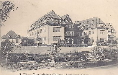 Simsbury  Ct   Westminster College