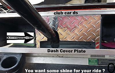 Club Car Ds Golf Cart Highly Polished Aluminum Diamond Plate Dash (Diamond Plate Dash)
