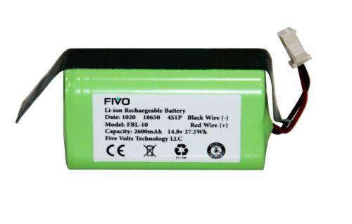 Eufy RoboVac 11S,11S Max, 12, 15T,15C,15C Max,25C,30,30C Max replacement battery