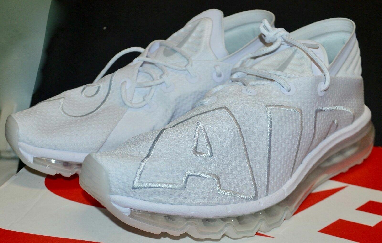 size 40 5caa1 7c1b4 8 Mens Nike Air Max Flair Vapor Running 90 Casual All Triple White 942236  100