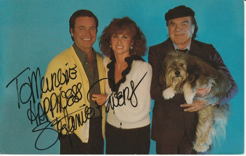 Hart to Hart Robert Wagner Stephanie Powers Lionel Stander Autograph Card