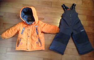 Boys size 2T Snowsuit-winter coat and snowpants
